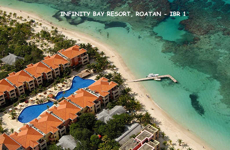 INFINITY BAY RESORT AERIAL VIEW